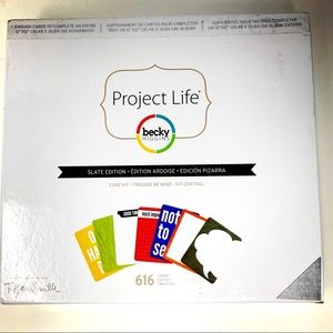 Project Life Slate Edition Core Kit